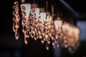 Umweltschonende Voll-LED Lampen-Ausstattung im gesamten Salon