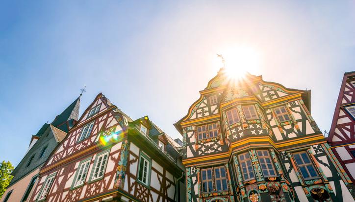 Idstein ist bekannt für Fachwerkhäuser in der Altstadt